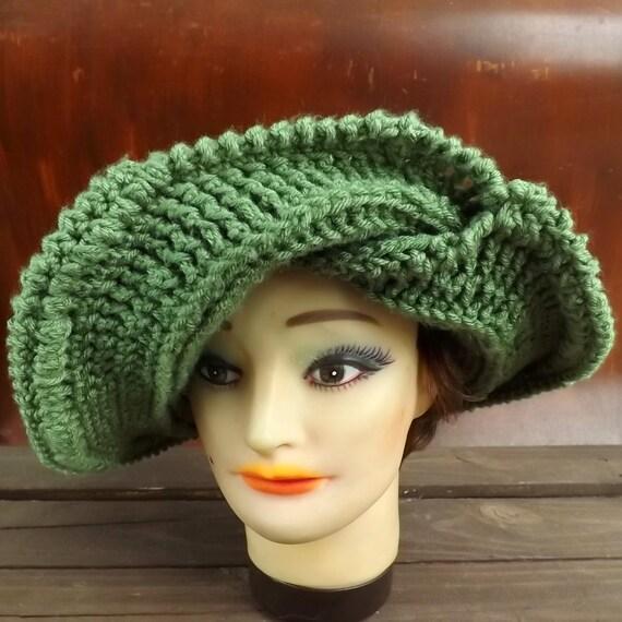 Crochet Pattern Hat Womens Hat Pattern Womens Crochet Hat Etsy