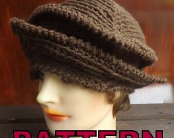 Crochet Pattern Hat,  Womens Hat Pattern,  Womens Crochet Hat Pattern,  Michelle 1920s Cloche Hat Pattern