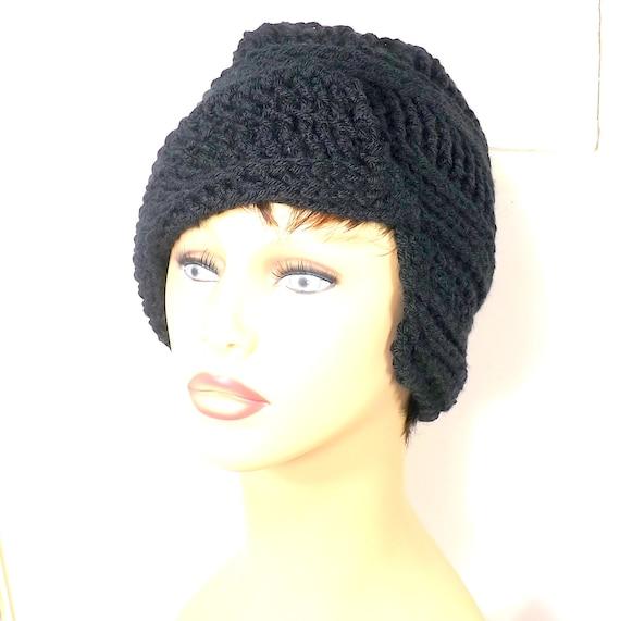 Pleasantly Beautiful Clairisse Crochet Beanie African Flap  215cd796247