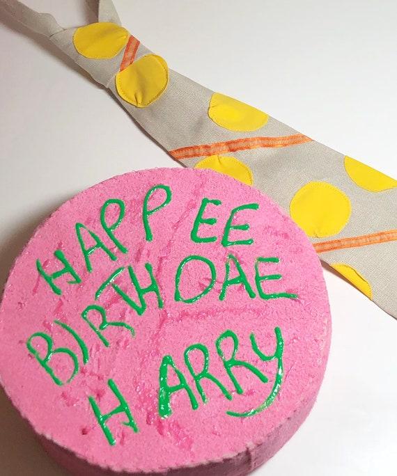 Hagrid Costume Tie And Birthday Cake Cosplay Etsy