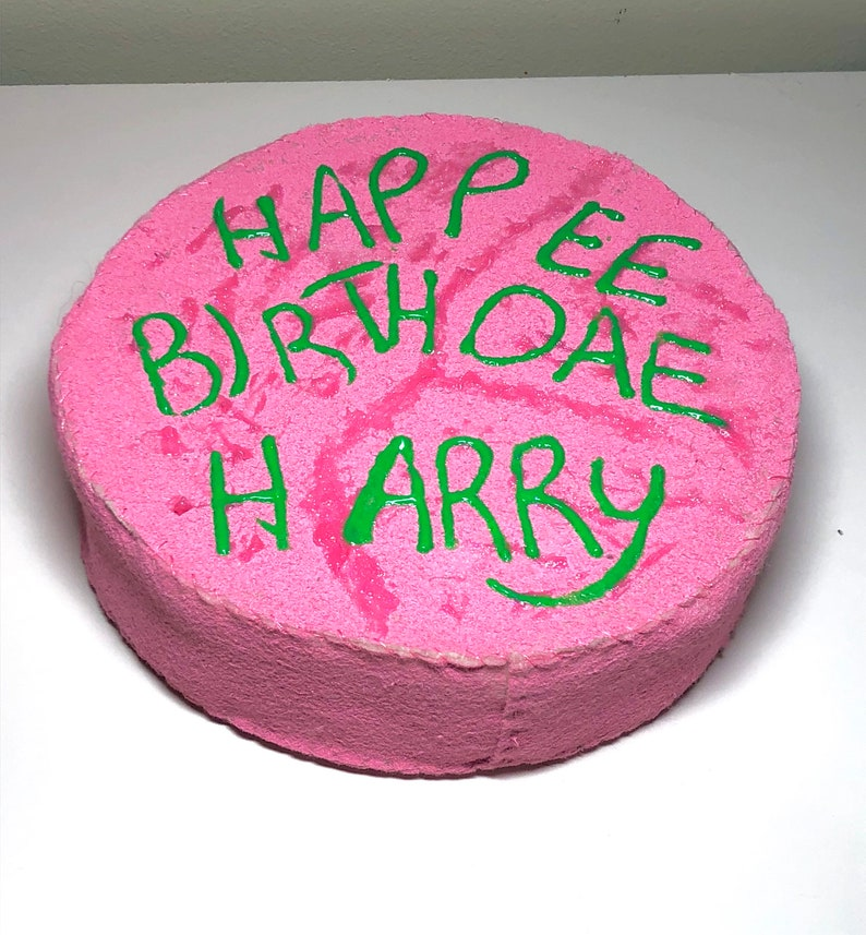 Hagrid Costume Tie and Birthday Cake cosplay