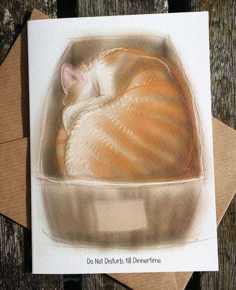 greetings card: 'Do Not Disturb till Dinnertime'  image 0