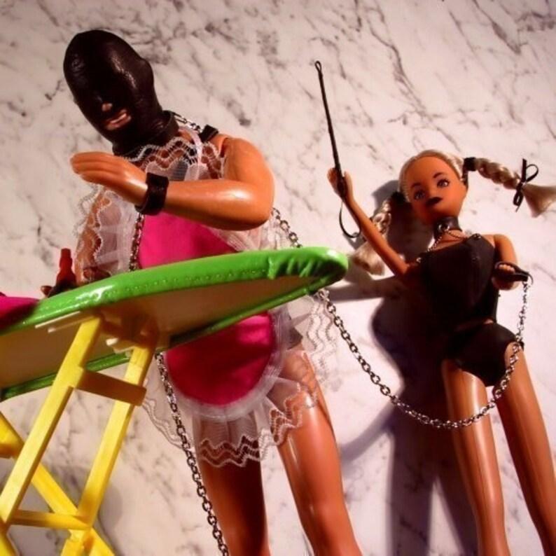 Sex & Housework  Ironing Gimp  adult card  image 0