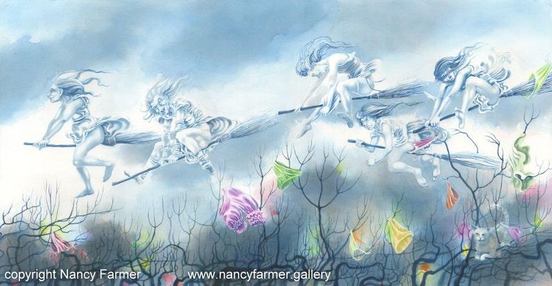 Maiden Flight  art print by Nancy Farmer image 0