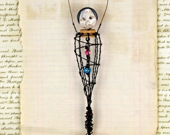 Wire Art Doll