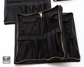 Zippered Leather Tool Case