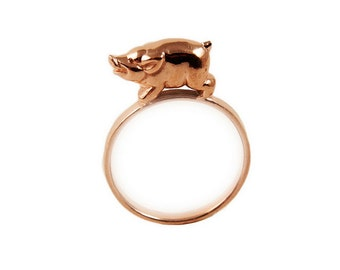 This Little Piggy Ring