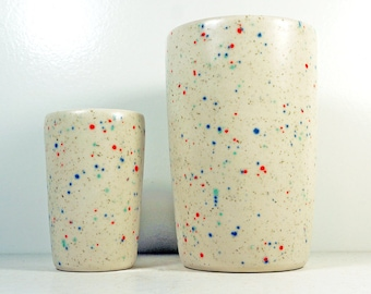 Sweet Tooth glaze - Itty Bitty or 18oz for smoothies/coffee/beer/water tumbler or vase - Think of how cute that would look!