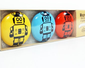 magnet set of robots. (3pk)