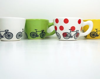 One single Tour de France themed 12oz cup, your choice