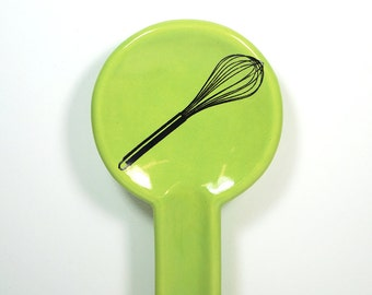 spoon rest whisk - Made to Order / Pick Your Colour