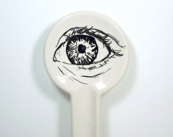 spoon rest with human anatomy. Made to Order / Pick Your Colour / Pick Your Print