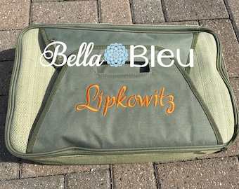 Monogrammed Casserole Carrier, Personalized Casserole Carrier, Casserole Carrier Insulated, Wedding Gift, Bridal Wedding Gift, Bridal Shower