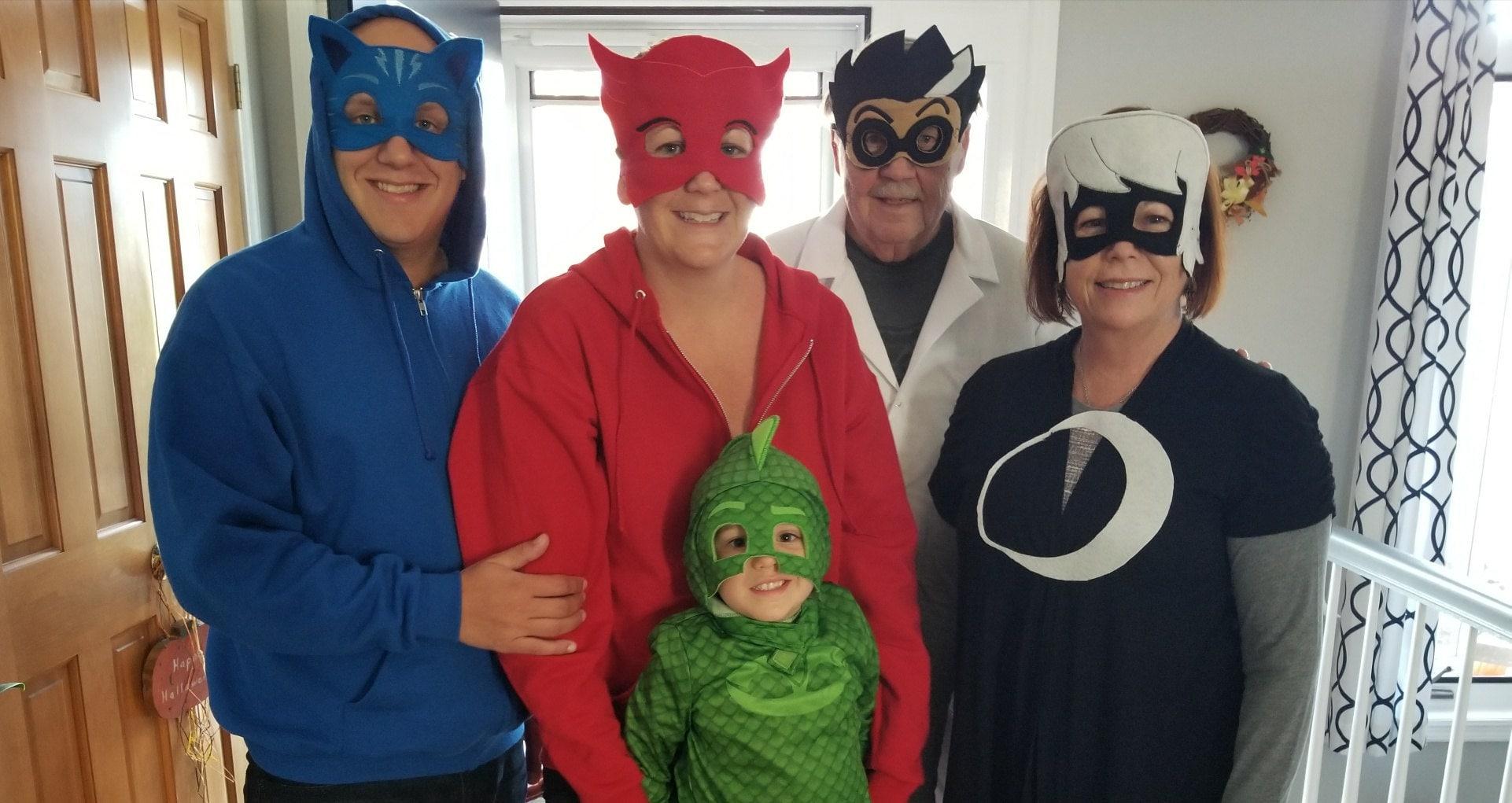 Pj Masks Halloween Costume.Adult Pj Masks Mask Pj Masks Birthday Pj Masks Romeo Luna Girl Night Ninja
