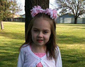 CUSTOM Petite Korker Set, korkers, choose your colors, pigtail bows, newborn, toddler, birthday girl, big girl bo