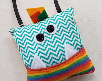 Tooth Fairy Pillow-Tooth Fairy Monster