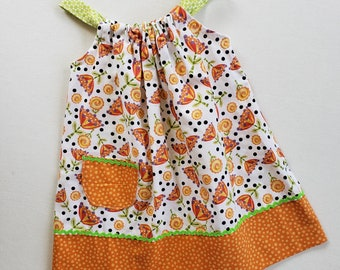 Toddler Girls Dress-Size 1 with adjustable straps-Jumper-Sundress-Ready to Ship