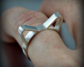 Personailzed Cat Ring, Pet Memorial, Cat Ears Jewelry