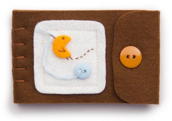 Wool Felt Needle Book Travel Sewing Kit Sewing Needle Case