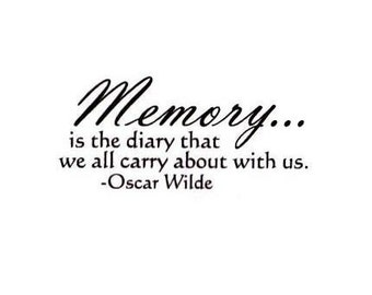 Quote About Memories Etsy