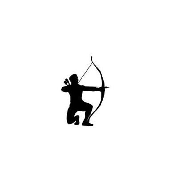 bowhunting archery #14 ARROW unmounted rubber stamp