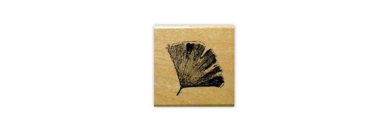 Japanese #12 Asian Oriental BAMBOO w// Butterflies mounted rubber stamp