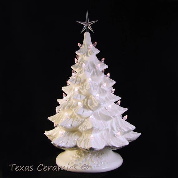 image 0 - White Ceramic Christmas Tree