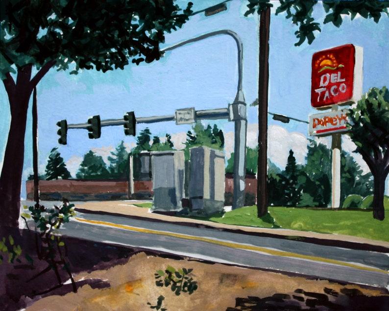 Del Taco Hazel Dell WA Oil Painting image 0