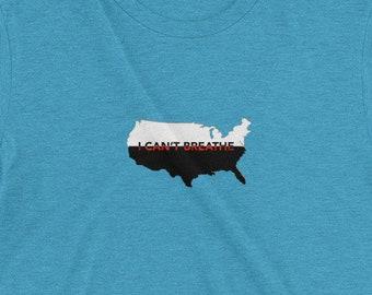 I Can't Breathe: Mens T-shirt