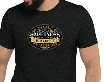 Happiness: Men's T-shirt