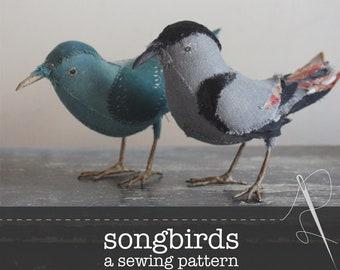 a sewing pattern (PDF) : songbird