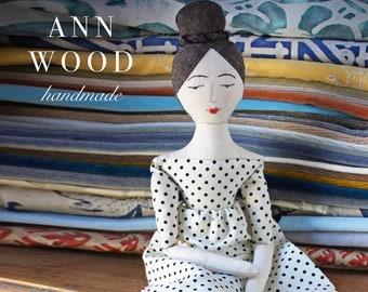 elegant rag doll : a sewing pattern
