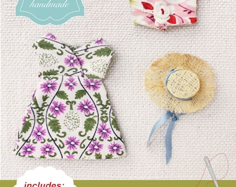easy doll clothes : a sewing pattern