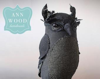 a sewing pattern (PDF) : owl