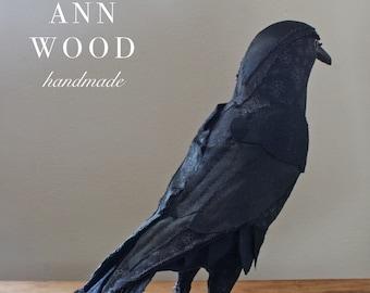 a sewing pattern (PDF) : crow