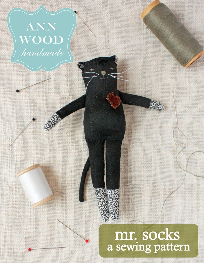 mr. socks : a sewing pattern image 1