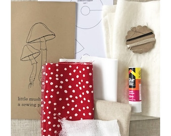 mushrooms : sewing kit