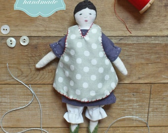 tiny rag doll : a sewing pattern