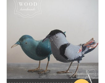 songbirds : sewing pattern booklet