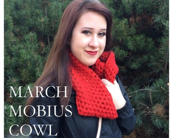 Pattern: March Mobius Cowl