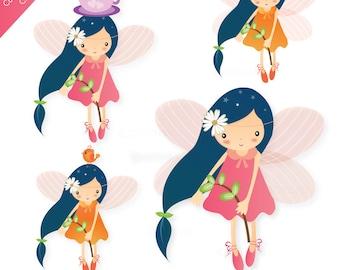 Cute Little Fairy Clip Art