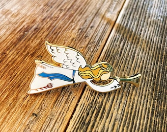 Christmas Angel - Enamel Pins to Celebrate the True Meaning of Christmas!