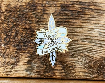 Christmas Star pin - Light of the World - Enamel Pins to Celebrate the True Meaning of Christmas!