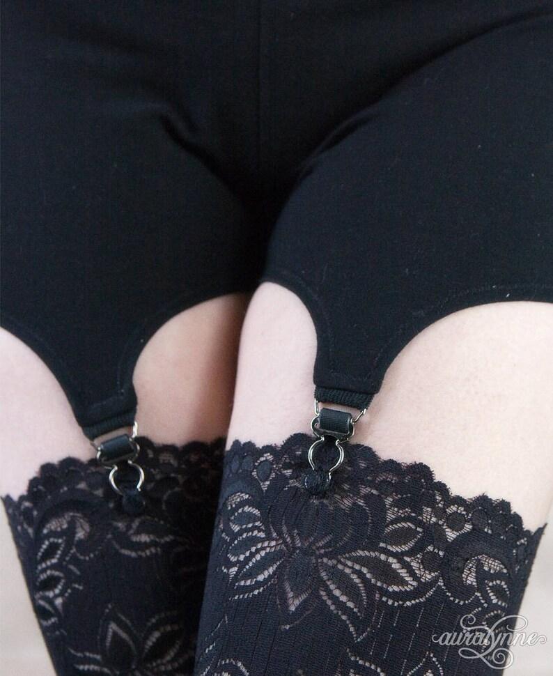 b88550c63 Garter Shorts Ready to Ship Cosplay Shorts Cotton Garter