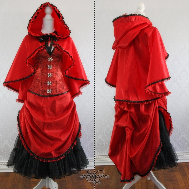 Little Red Riding Hood Steampunk Costume  Into the Woods  Little Red (Petti.)