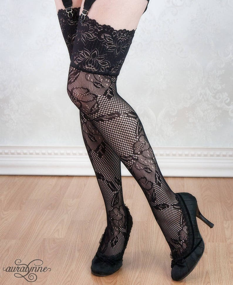 9459a0f3a Lace Stockings Exotic Elegance Sexy Lingerie Thigh High