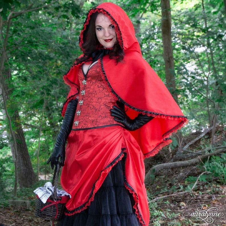 Little Red Riding Hood Steampunk Costume  Into the Woods  image 0