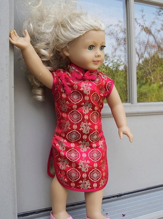 American Girl Doll Chinese Dress