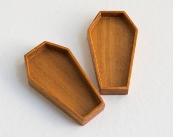 Extra DEEP coffin bezels -  24 x 44 mm cavity - (P71d) - Set of TWO