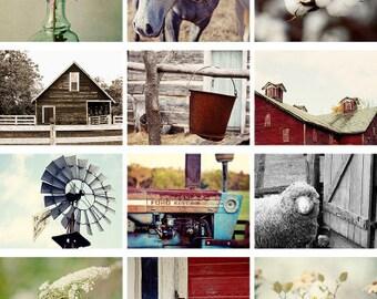LAST ONE 2018 wall calendar, Rustic wall calendar, 2018 calendar rustic photography, country, farm, barns, rustic decor calendar